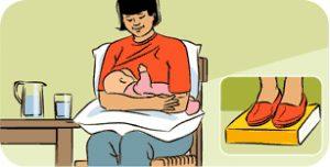 allattamento-posizione seduta
